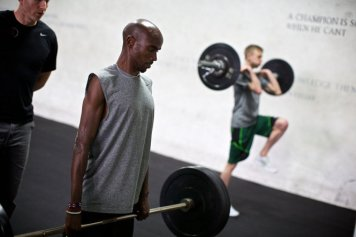 Galen Rupp and Mo Farah Weight-Lifting NOP